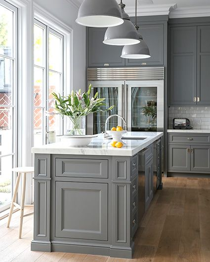 Make Your Kitchen Classic With Grey Kitchen Cabinets - Hardware for gray kitchen cabinets